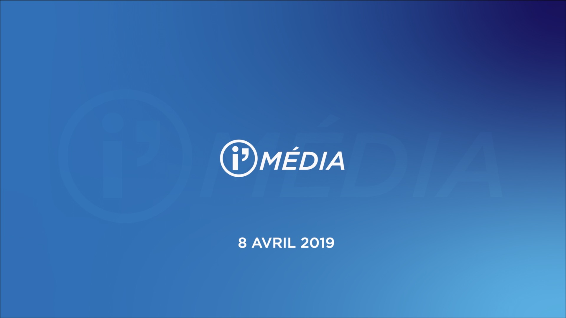 I'Média 8 avril 2019