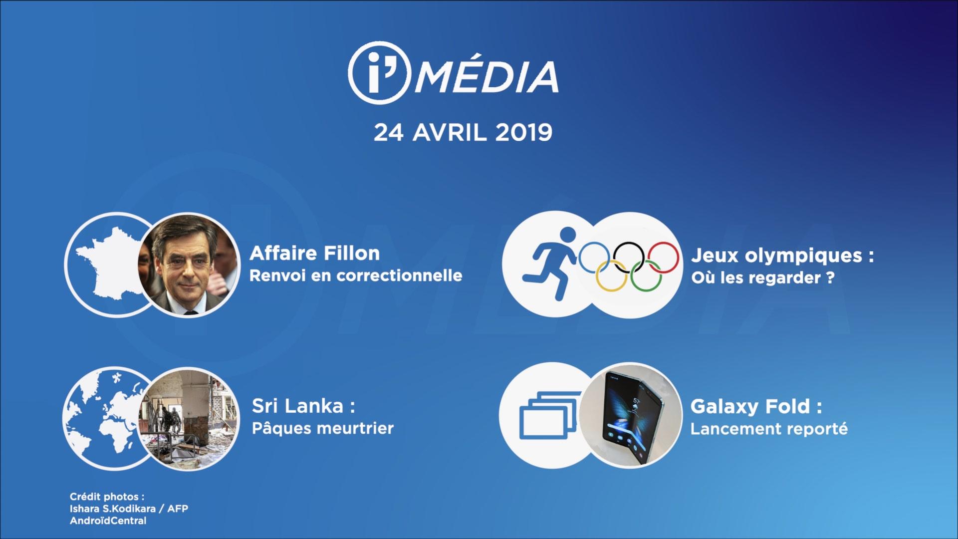 I'média 24 avril 2019