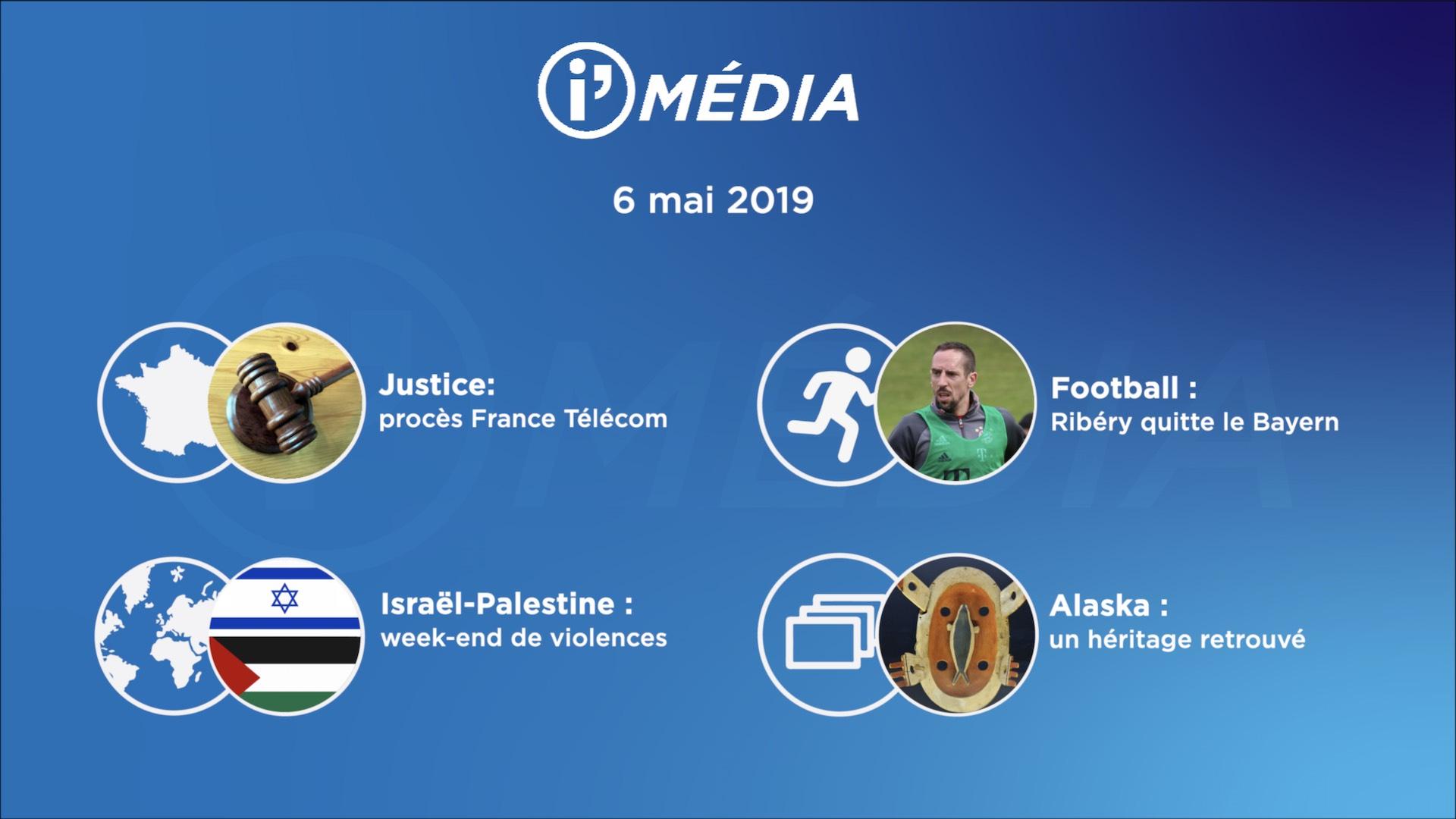 I'Média 6 mai 2019