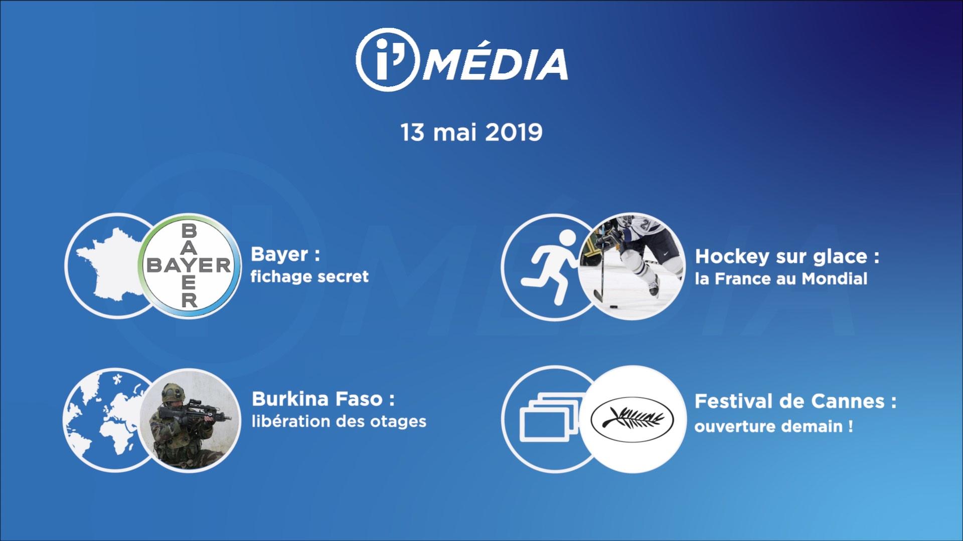 I'média 13 mai 2019
