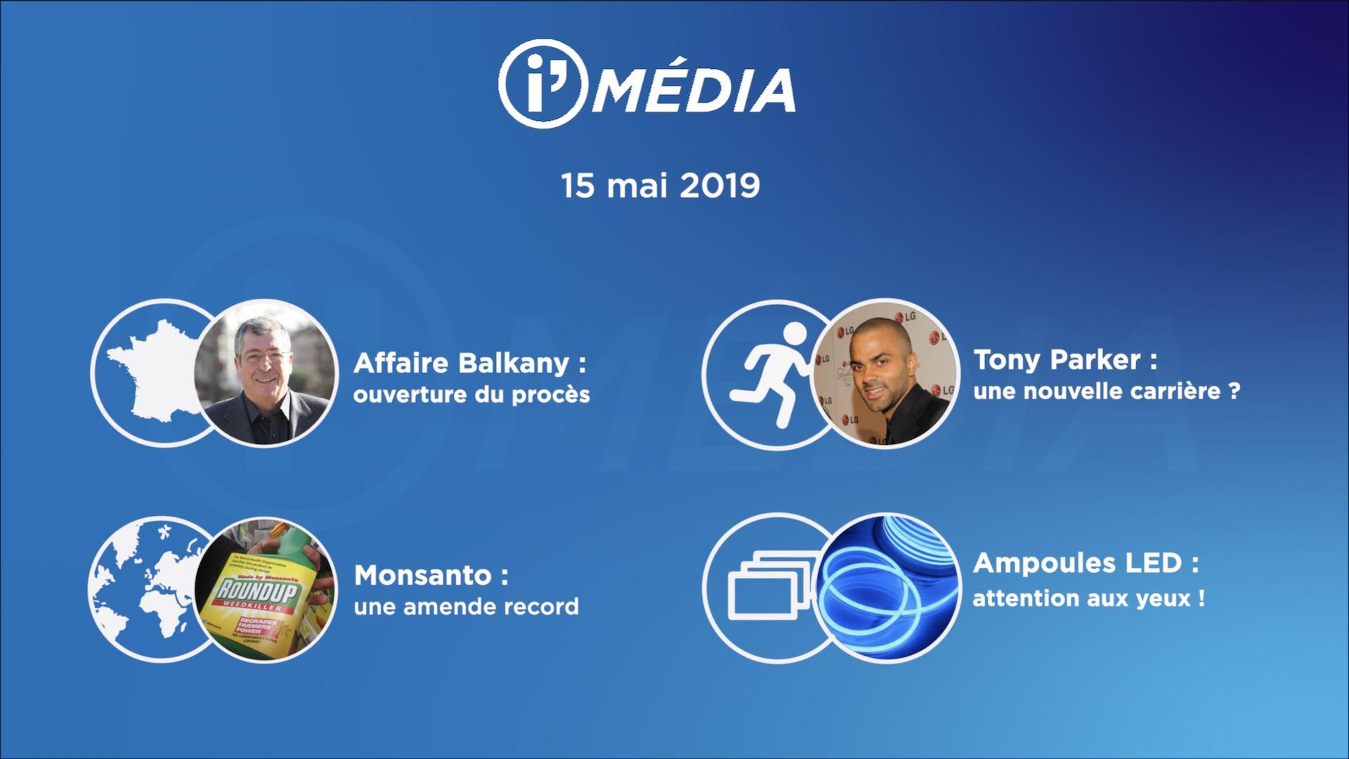 I'média 15 mai 2019