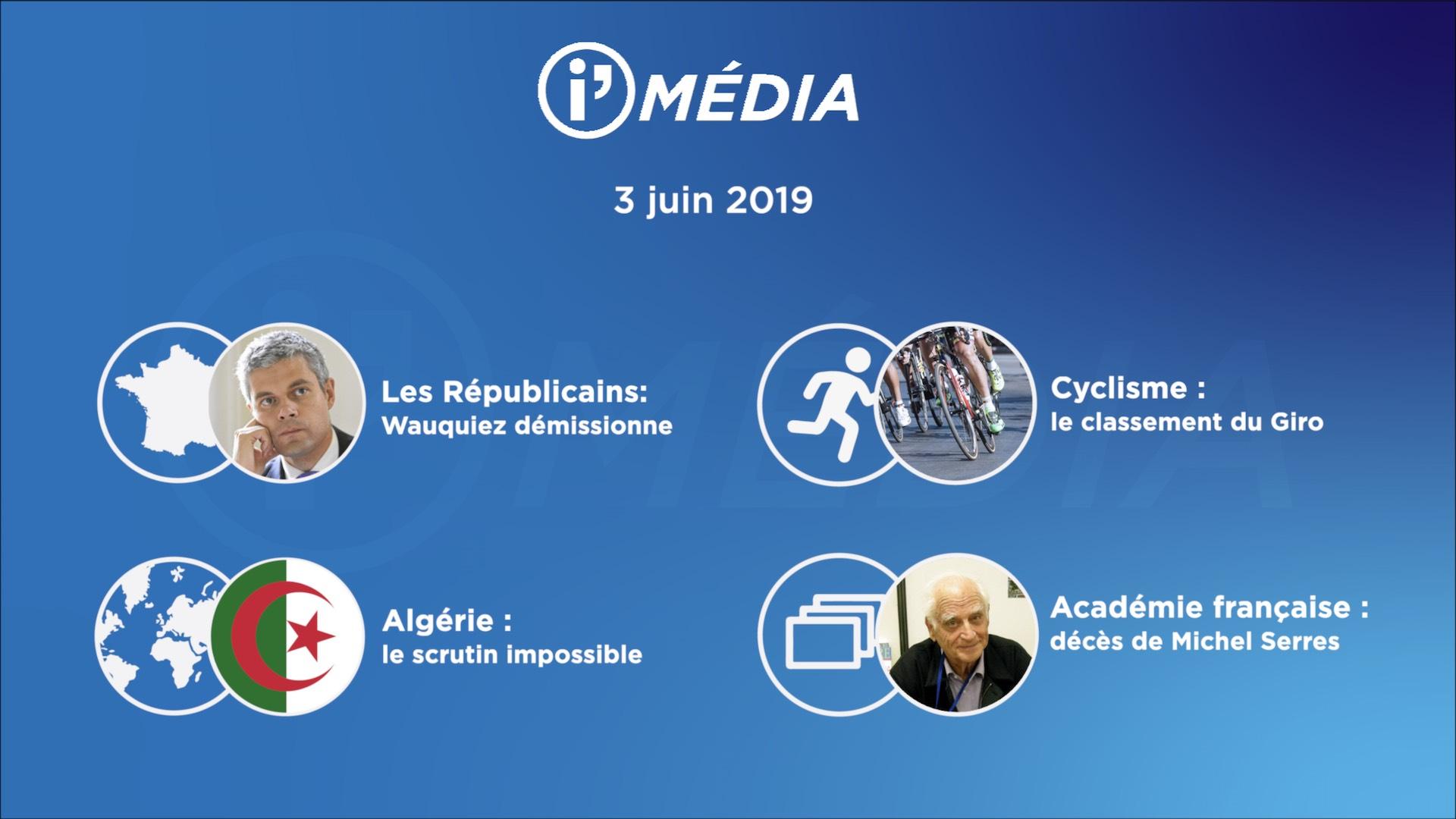 I'média 3 juin 2019