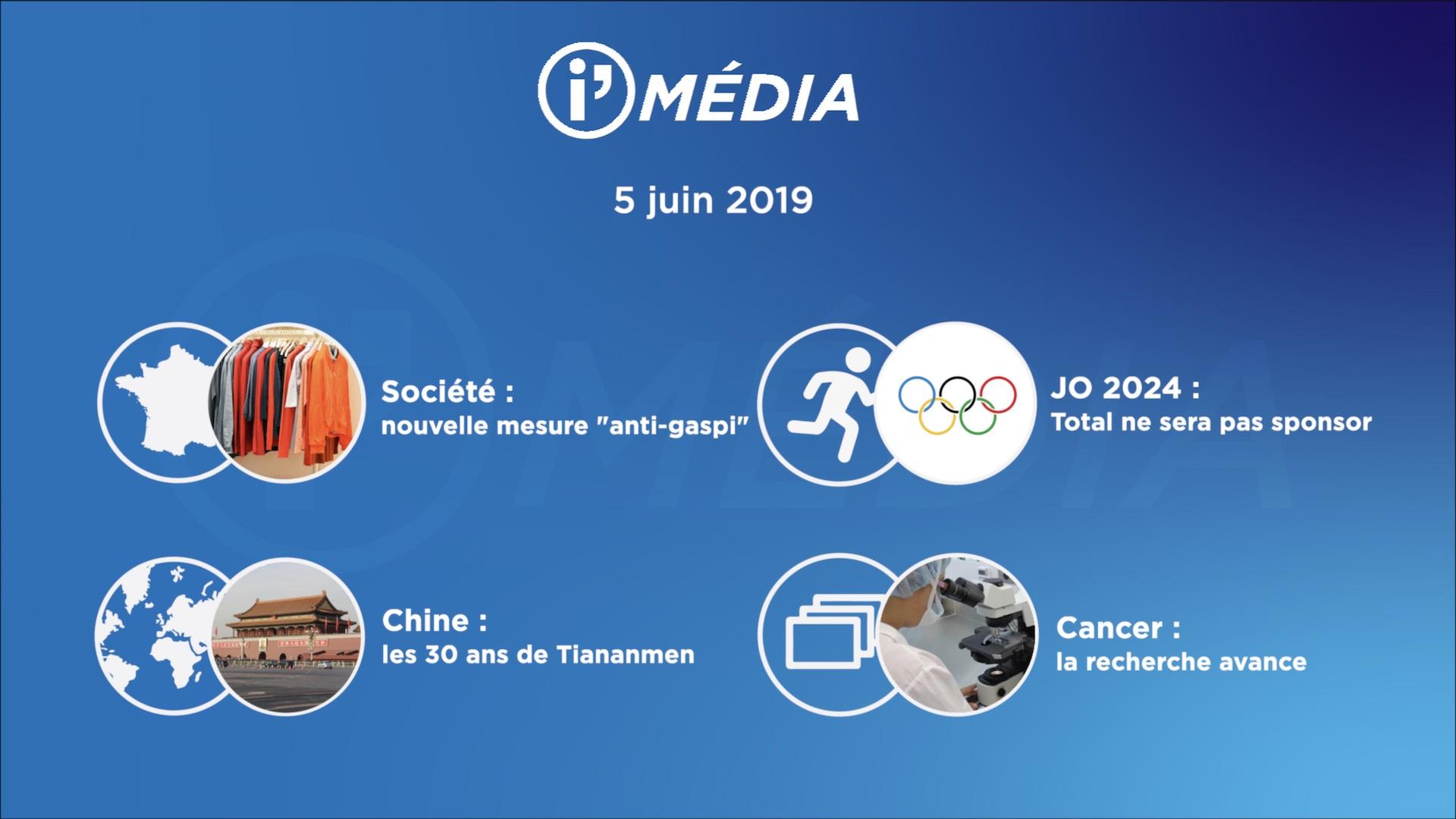 I'média 5 juin 2019