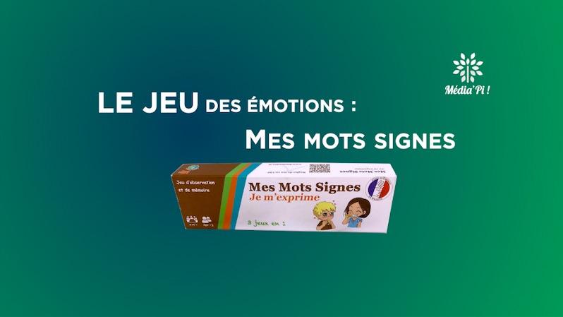 QFE jeu émotions mots signes