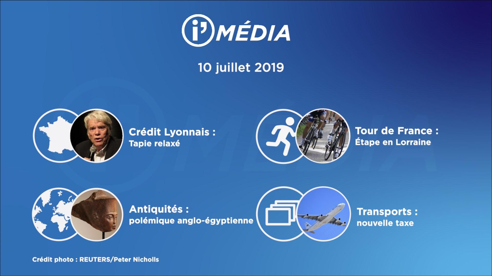 I'média 10 juillet 2019