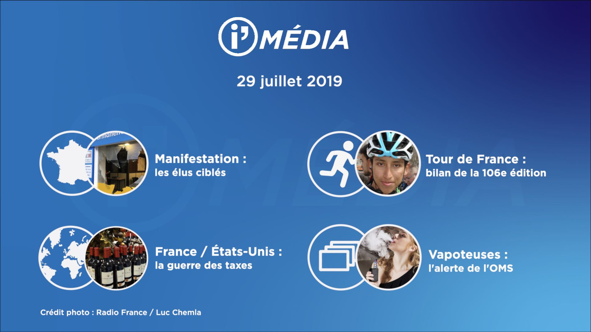 I'média 29 juillet 2019