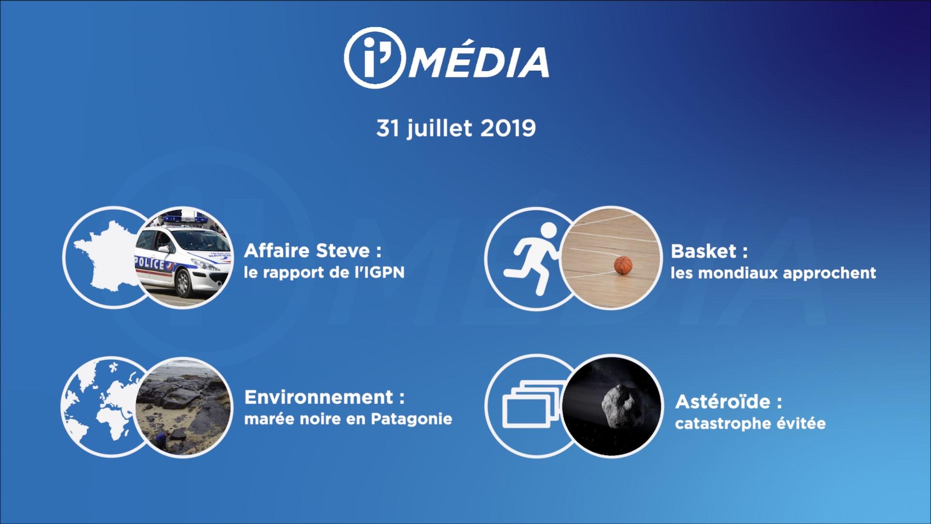 I'média 31 juillet 2019
