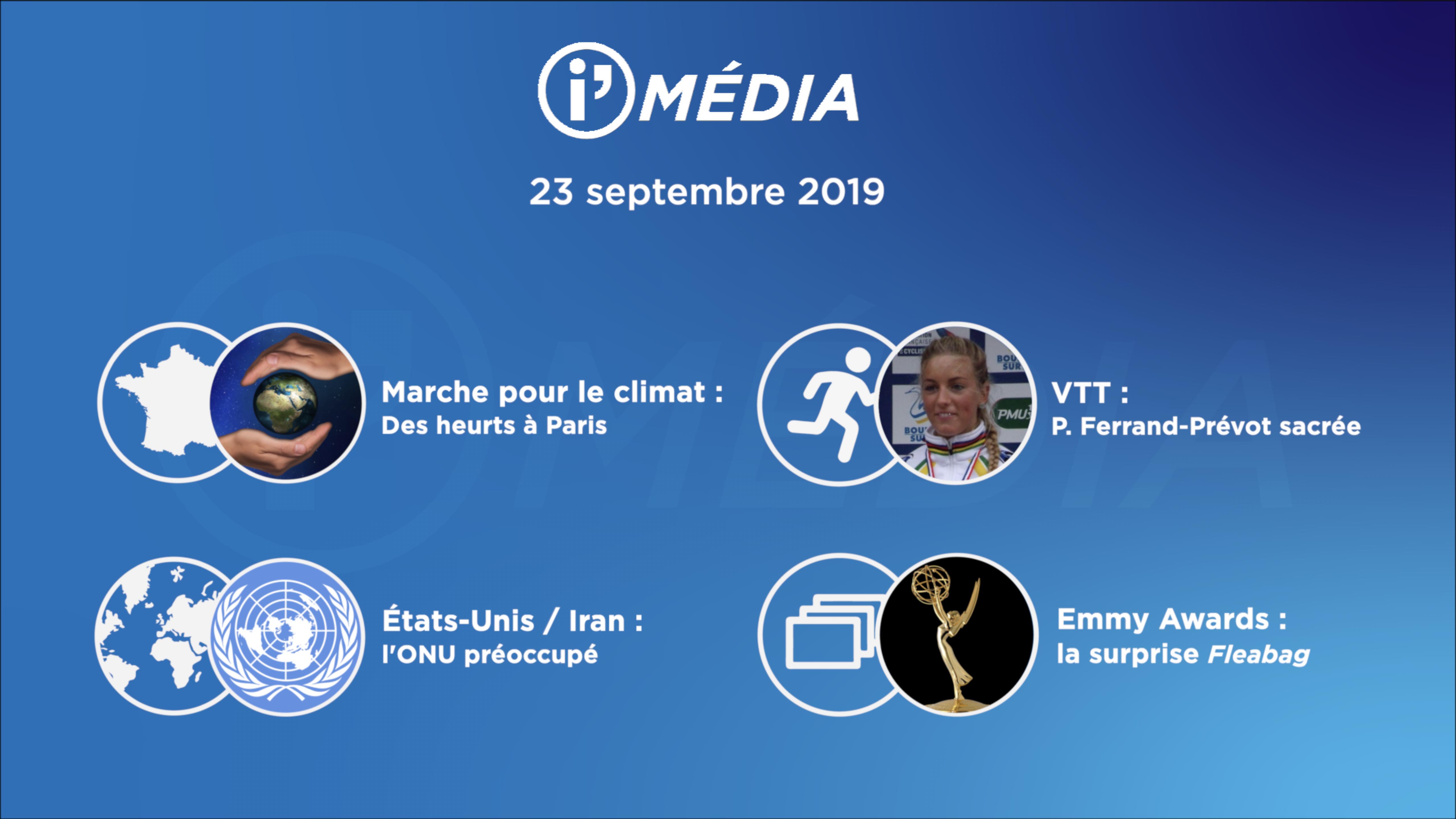 I'média- 23 septembre 2019