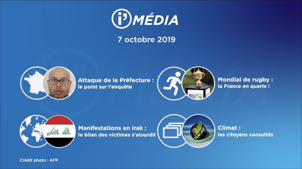 IMédia 7 octobre 2019