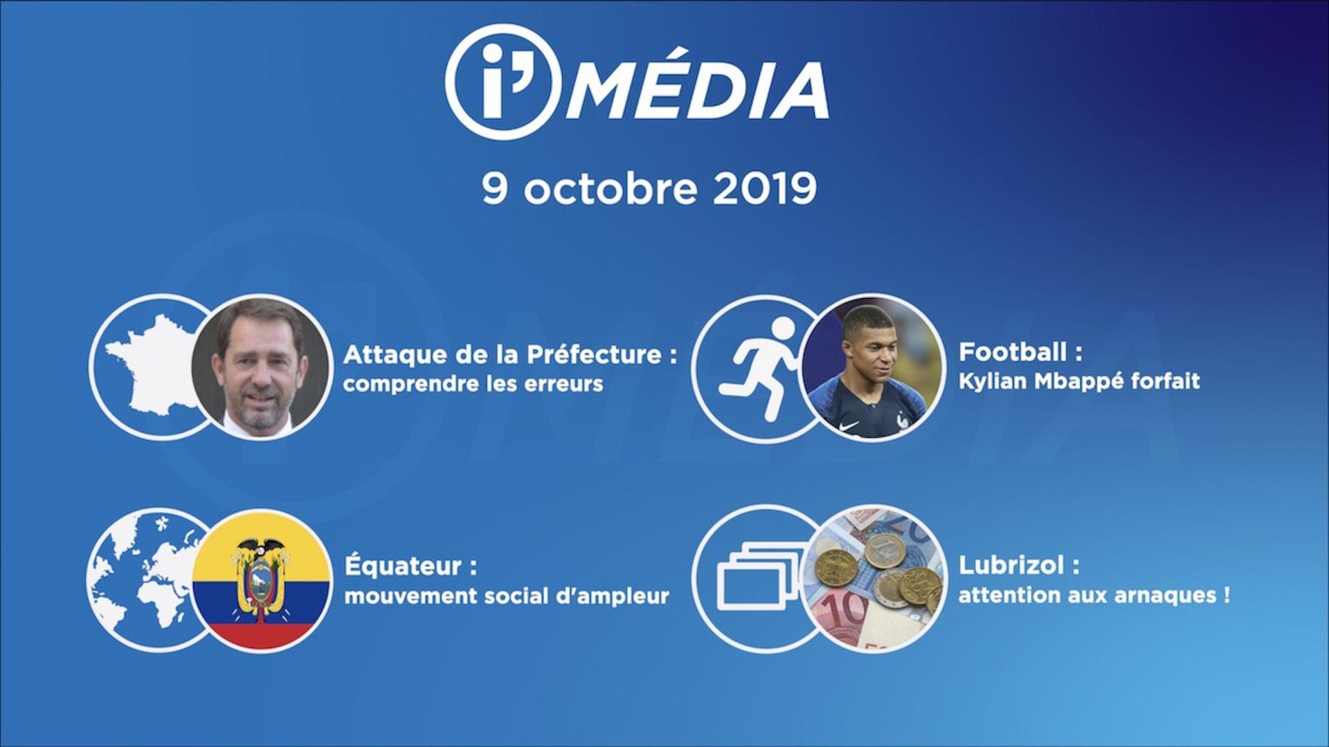I'média 9 octobre 2019