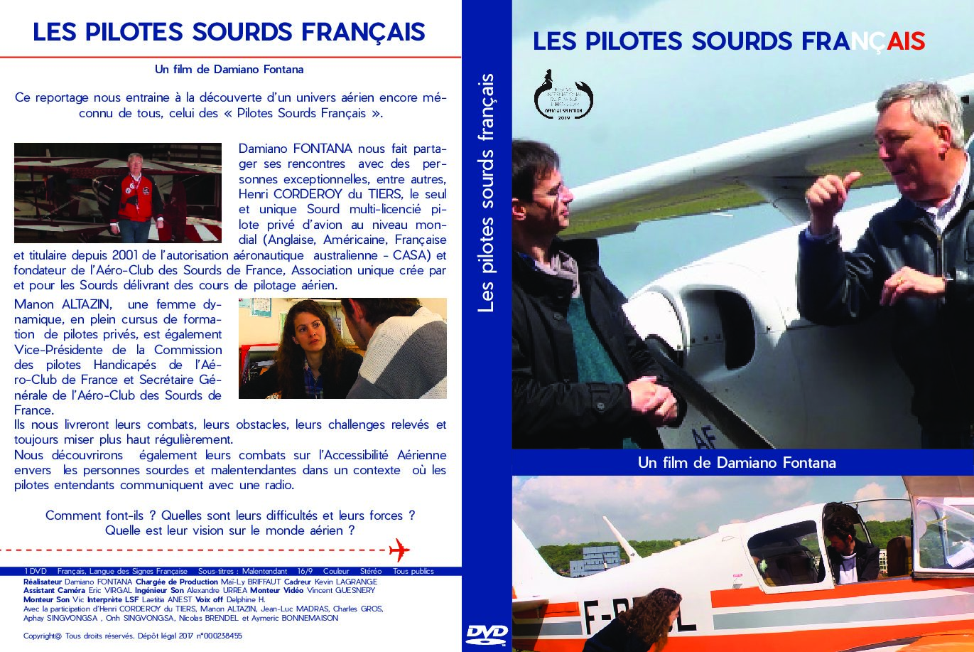 Jaquette DVD Les pilotes sourds v3