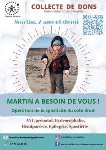 Martin a besoin de vous !!