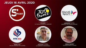 Sommaire_5S_2020-04-AVRIL-16_5'sport-N°015_V2