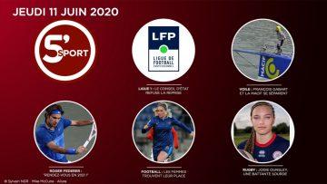 Sommaire_5S_2020-06-JUIN-11_5'sport-N°22_V1