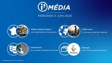 Sommaire_IM_2020-06_JUIN_3_i_Média_du_MERCREDI_3_JUIN_2020_N°87_V3