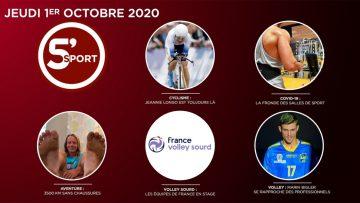 Sommaire_5S_2020-10-OCTOBRE-01_5_sport-N°34_V2