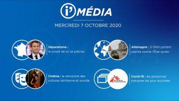 Sommaire_IM_2020-10-OCT0BRE-7_i_Média_du_MERCREDI_7_OCTOBRE-N°119_V2