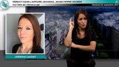 Capture_ACTU – V1 – Sourd – Verdict dans l'affaire Johanna, jeune femme sourde victime de féminicide_V1