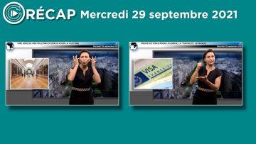 capture RECAP mercredi
