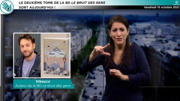CAPTURE_ACTU – V4 – PISOURD – Le deuxième tome de Le bruit des gens sort aujourd'hui !_V2